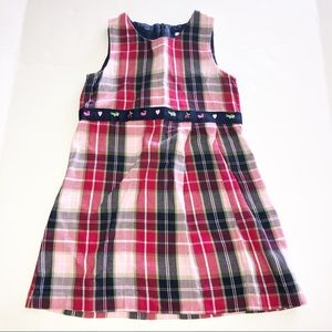 Hartstrings Plaid Dress